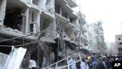 大馬士革民眾抗議停火協議受到破壞