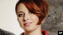 23일 러시아 모스크바의 '에호 모스크비' 방송국에서 타티야나 펠겐가우에르 부국장이 괴한의 공격을 받았다. '에호 모스크비'가 배포한 펠겐가우에르 부국장의 사진.