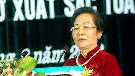 Phó Chủ tịch nước Việt Nam Nguyễn Thị Doan