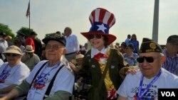 Страна чествует ветеранов