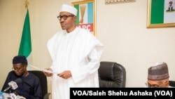Sabon shugaba Muhammad Buhari
