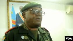 Molebeli ya FARDC (Forces armées de la RDC), général Léon Richard Kasonga na Goma, Nord-Kivu, 25 octobre 2019. (VOA Lingala)