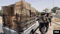 La policía iraquí ha incrementado las medidas de seguridad tras la serie de ataques.