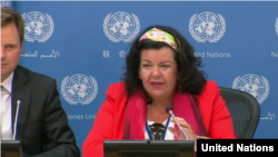 کارن پیرس نماینده بریتانیا در سازمان ملل متحد - آرشیو