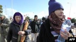 Một nhóm công nhân đường sắt Trung Quốc đã vượt biên giới vào Tunisia