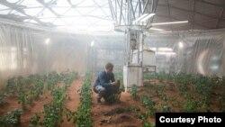 صحنه ای از فیلم مریخی