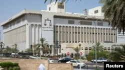 A general view of the Kuwait Palace of Justice (court house) in Kuwait City, June 16, 2013.