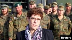 Գերմանիայի պաշտպանության նախարար Աննեգրեթ Քրամպ-Քարրենբաուեր