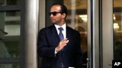George Papadopoulos, ansyen konseye politik ertranjè Prezidan Trump.