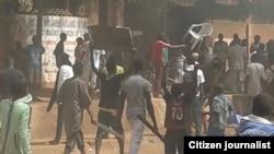 La manifestation contre Charlie Hebdo au Niger