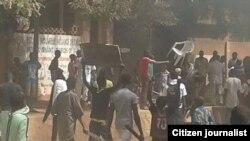 'Yan zanga zanga a Niger