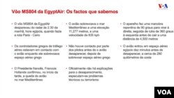 EgyptAir 804 - Factos