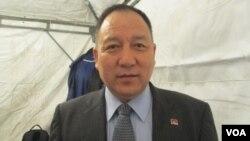 達賴喇嘛西藏宗教基金會董事長達瓦才仁(美國之音張永泰拍攝)