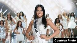 Anindya Kusuma Putri, di ajang Miss Universe 2015 (dok: Miss Universe Organization, Richard D. Salyer)