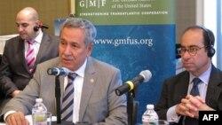 Başbakan Yardımcısı Bülent Arınç, Amerikan Alman Marshall Fonu'nda katıldığı toplantıda
