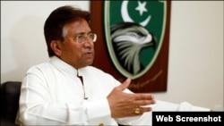 前巴基斯坦軍政府領導人穆沙拉夫。(資料圖片)