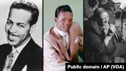 Слева направо: Вайнони Харрис, Хэнк Баллард, Джо Тёрнер