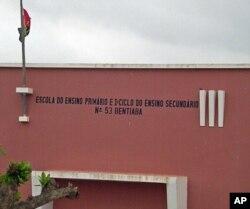 Centro prisional de São Nicolau, na província do Namibe