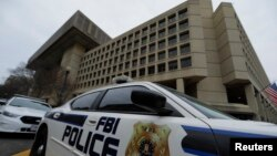 Kantor Biro Investigasi Federal Amerika (FBI) di Washington DC (foto: dok).