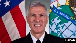 美军太平洋司令洛克利尔上将(美国太平洋司令部提供)