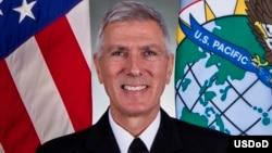 美軍太平洋司令洛克利爾上將(美國太平洋司令部提供)