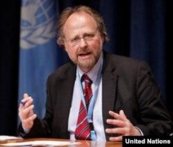 Báo cáo viên đặc biệt của LHQ về Tự do Tôn giáo-Tín ngưỡng, ông Heiner Bielefeld.