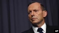 Primer ministro de Australia, Tony Abbott.
