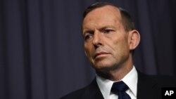 El primer ministro australiano, Tony Abbott, dice que hay que reducir emisiones en forma consistente con el crecimiento económico.