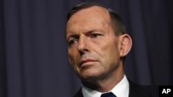 Waziri Mkuu wa Australia Tony Abbott