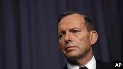 Perdana Menteri Australia Tony Abbott mengatakan Australia-Jepang-AS merupakan aliansi yang sangat penting.