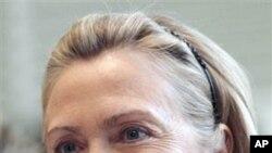وهزیری دهرهوهی وڵاته یهکگرتووهکان هێلهری کلنتن له جنێڤ، دووشهممه 28 ی دووی 2011