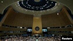 سخنرانی بان کی مون دبیر کل سازمان ملل متحد در آغاز اجلاس تغییرات اقلیمی در نیویورک - ۳ اردیبهشت ۱۳۹۵