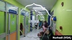 Layanan di salah satu klinik RSUP Dr Sardjito.(Foto:VOA/ Nurhadi)