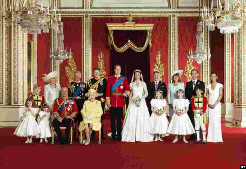 Martesa e Princit Uilliam me Kejt Midëllton