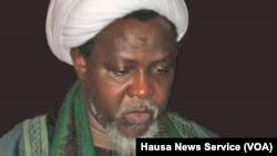 Sheikh Ibrahim Zakzaky détenu, avec sa femme, depuis un an sans procès par le Département des services d'Etat nigérian.