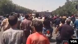 اعتراضات در اصفهان