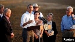 Ông Obama cũng cho biết đang yêu cầu Quốc hội cấp 1 tỉ đô la để giúp đối phó những những ảnh hưởng của khí hậu biến đổi khí hậu.