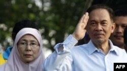 Nhà lãnh đạo đối lập Malaysia Anwar Ibrahim