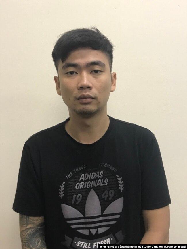 Ngô Xuân Tùng, nghi phạm vụ tống tiền các đại biểu Quốc hội qua tin nhắn điện thoại. (Ảnh chụp màn hình cổng thông tin điện tử Bộ Công An)