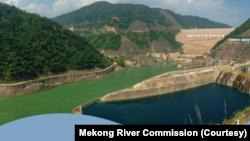 Nuozhadu, con đập lớn nhất trong số 11 con đập của Trung Quốc ở thượng nguồn sông Mekong. Báo cáo mới của MRC cho thấy các con đập này góp phần làm ảnh hưởng dòng chảy của con sông dưới hạ nguồn, trong đó có Việt Nam.