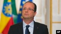Shugaba Francoise Hollande na Faransa