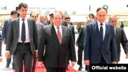 پاکستان وزیر اعظم کی دوشنبے آمد