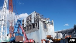 Nhà máy điện hạt nhân Fukushima đã bị hư hại hoàn toàn sau trận động đất mạnh và sóng thần ập vào Nhật Bản hồi tháng Ba năm ngoái
