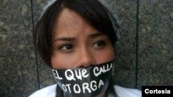 Los estudiantes han estado a la cabeza de las protestas contra el Gobierno (Foto: Organización Nacional Jóvenes Venezolanos).