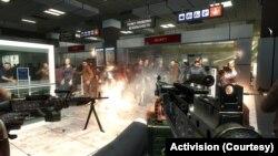 """Миссия """"Ни слова по русски"""" (скриншот из CoD: MW 2)"""