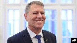 Novoizabrani rumunski predsednik Klaus Johanis