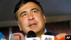 Колишній президент Грузії Михайло Саакашвілі