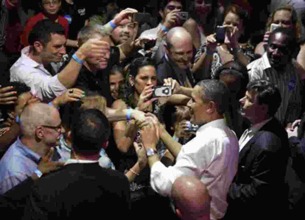 Obama se graduó en la Universidad de Columbia y en la prestigiosa escuela de Derecho Harvard Law School.