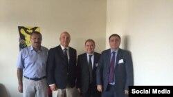 (Soldan) Tofiq Yaqublu, Nil Muijnieks, Cəmil Həsənli, Arif Məmmədov