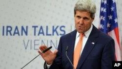 """""""Estamos tratando de encontrar una forma para que Irán tenga un programa nuclear exclusivamente pacífico"""", dijo Kerry."""